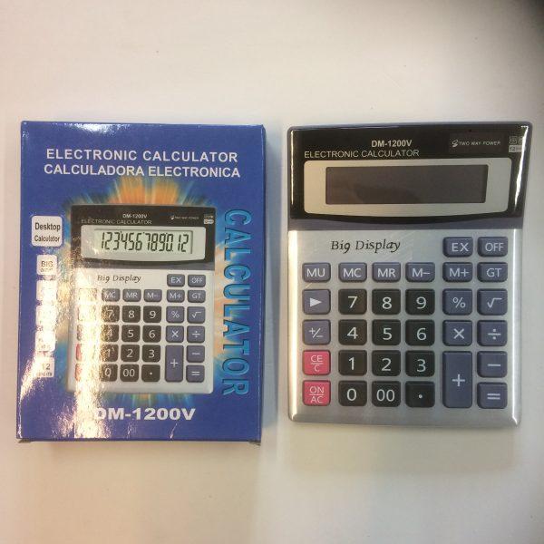 Kalkulator na baterię zwykłą i słoneczną