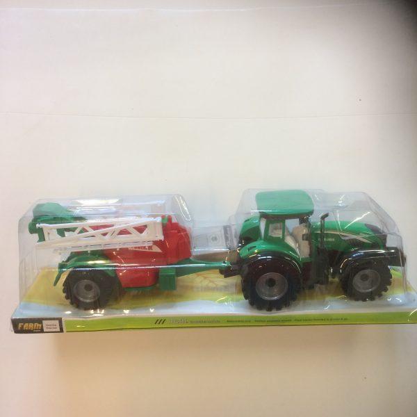 PH Demo Traktor na napęd z maszyną rolniczą