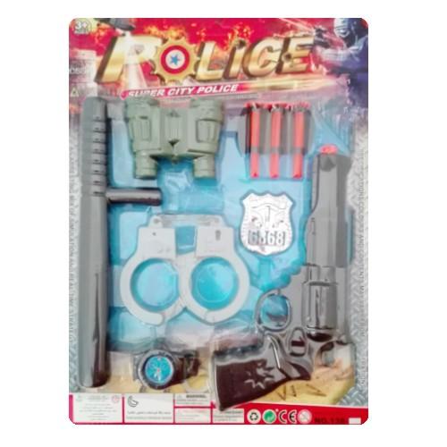 Zestaw policja 10 elementów