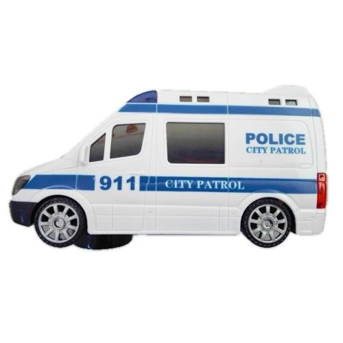 Autko Policja na baterie