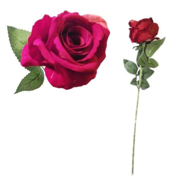 Kwiat róża pojedyncza 51cm