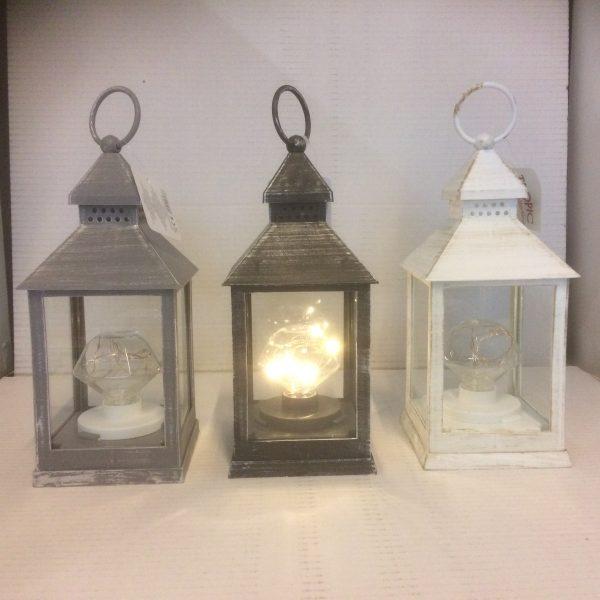Lampion dekoracyjny imitującym żarówkę