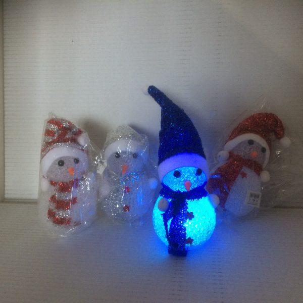 Bałwanek świąteczny świecący