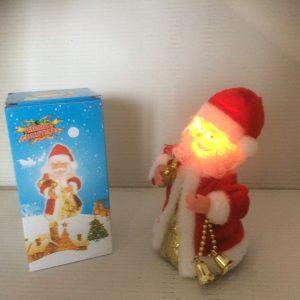 Mikołaj tańczący i śpiewający