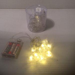 Lampki ledowe dzwoneczki