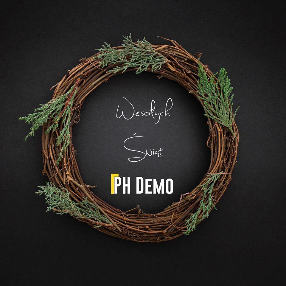 Wesołych Świąt ph demo