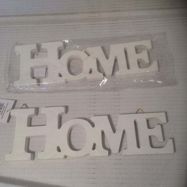 Tabliczka z napisem home