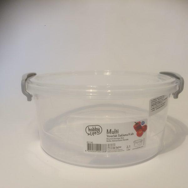 Pojemnik plastikowy 2.1 litra