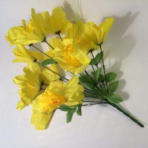 Kwiat sztuczny żonkil w bukiecie