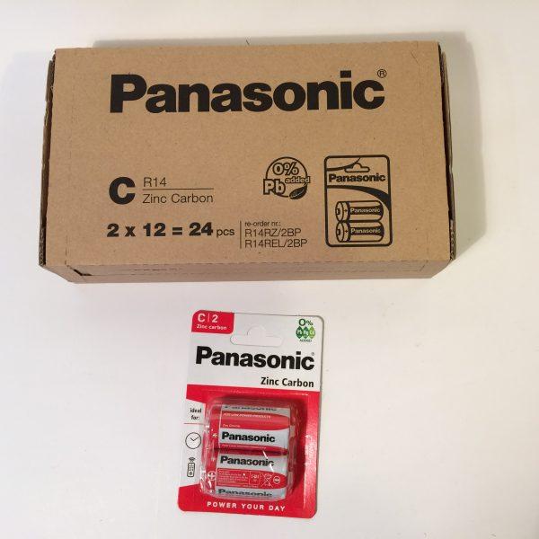 Baterie PanasonicR14