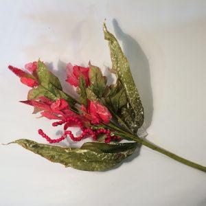 Kwiat sztuczny bukiet z materiału