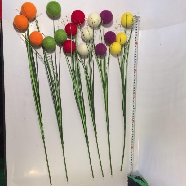 Dekoracja do wazonów i bukietów kulki pluszowe