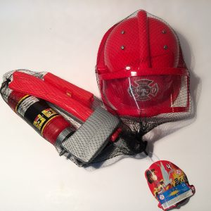 Zestaw strażacki w siatce
